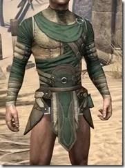 Outlaw Homespun Jerkin - Male Front