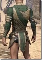 Outlaw Homespun Jerkin - Male Rear