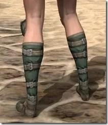 Outlaw Homespun Shoes - Female Rear