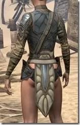 Outlaw Iron Cuirass  - Female Rear