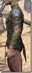Outlaw Iron Cuirass  - Male Side