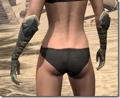Outlaw Iron Gauntlets - Female Rear