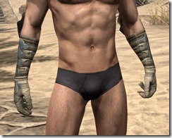 Outlaw Iron Gauntlets - Male Front