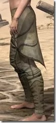 Outlaw Iron Greaves - Female Side