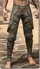 Outlaw Iron Greaves - Male Front