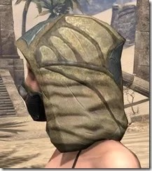 Outlaw Iron Helm - Female Side
