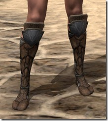 Outlaw Rawhide Boots - Female Front