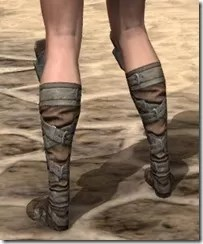 Outlaw Rawhide Boots - Female Rear