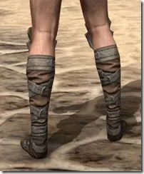 Outlaw Rawhide Boots - Male Rear