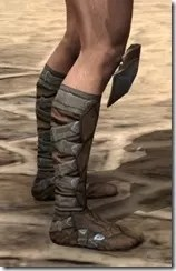 Outlaw Rawhide Boots - Male Right