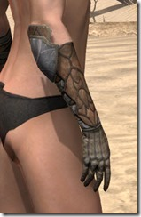 Outlaw Rawhide Bracers  - Female Right