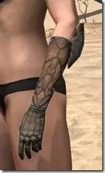 Outlaw Rawhide Bracers  - Female Side