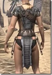 Primal Iron Cuirass - Female Rear