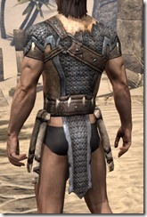 Primal Iron Cuirass - Male Rear