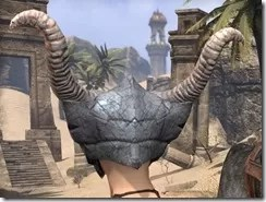 Primal Iron Helm - Female Rear