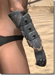 Skinchanger Iron Gauntlets - Female Right