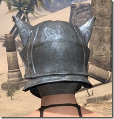 Skinchanger Iron Helm - Female Rear