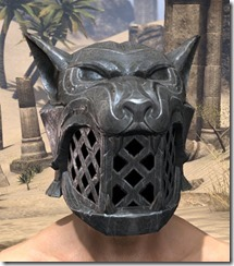Skinchanger Iron Helm - Male Front