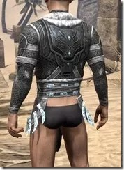 Stahlrim Frostcaster Iron Cuirass - Male Rear