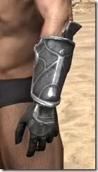 Thieves Guild Iron Gauntlets - Male Side