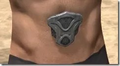 Thieves Guild Iron Girdle - Male Front