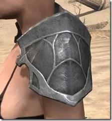 Thieves Guild Iron Pauldron - Female Side
