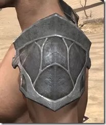 Thieves Guild Iron Pauldron - Male Side