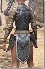 Yokudan Iron Cuirass - Female Rear