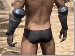 Yokudan Iron Gauntlets - Male Rear