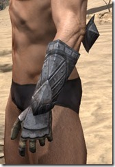 Yokudan Iron Gauntlets - Male Side