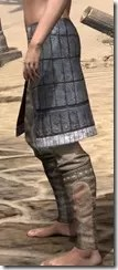 Yokudan Iron Greaves - Female Side