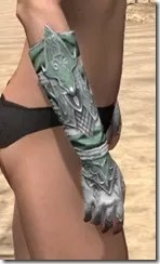 Sapiarch Iron Gauntlets - Female Right