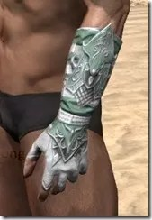 Sapiarch Iron Gauntlets - Male Side