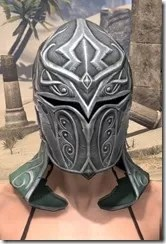 Sapiarch Iron Helm - Female Front
