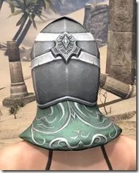 Sapiarch Iron Helm - Female Rear