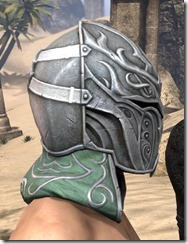 Sapiarch Iron Helm - Male Right