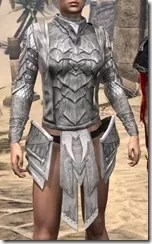 Scalecaller Iron Cuirass - Female Front