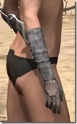 Scalecaller Iron Gauntlets - Female Right