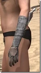 Scalecaller Iron Gauntlets - Female Side