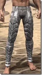 Scalecaller Iron Greaves - Male Front
