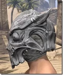 Scalecaller Iron Helm - Male Side