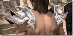Scalecaller Iron Pauldron - Male Rear