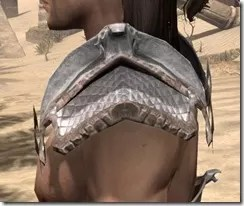 Scalecaller Iron Pauldron - Male Side