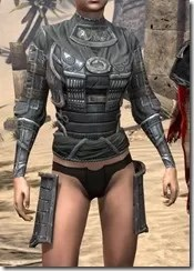 Tsaesci Iron Cuirass - Female Front