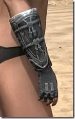Tsaesci Iron Gauntlets - Female Right