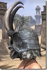 Tsaesci Iron Helm - Female Side