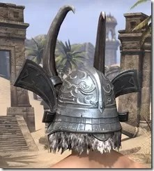 Tsaesci Iron Helm - Male Rear