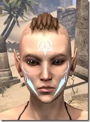 Face Imprint of the Psijic Order Female Front