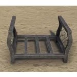 Fireplace Grate, Wrought Iron