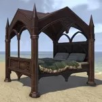 Alinor Bed, Canopy Full